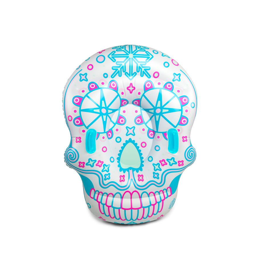 Sugar Skull Snow Tube