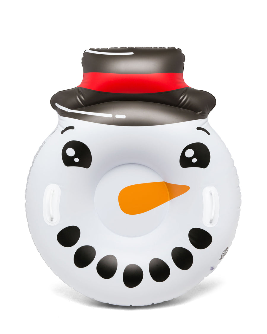 Round Snowman Face Snow Tube