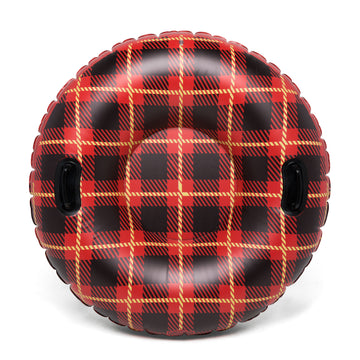 Cozy Flannel Plaid Snow Tube