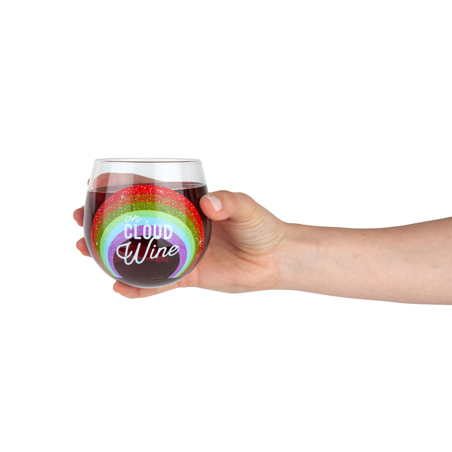The Cloud Wine Stemless Wine Glass