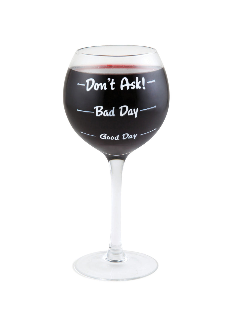 The How Was Your Day Wine Glass