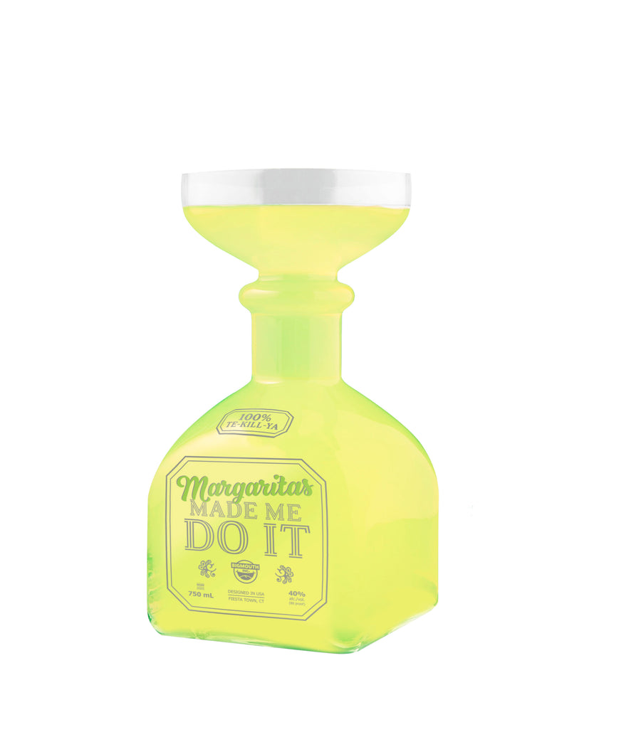 Margarita Glass Bottle