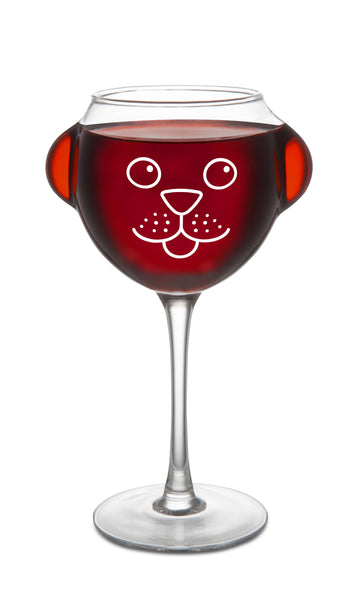 The Ruff Day Wine Glass