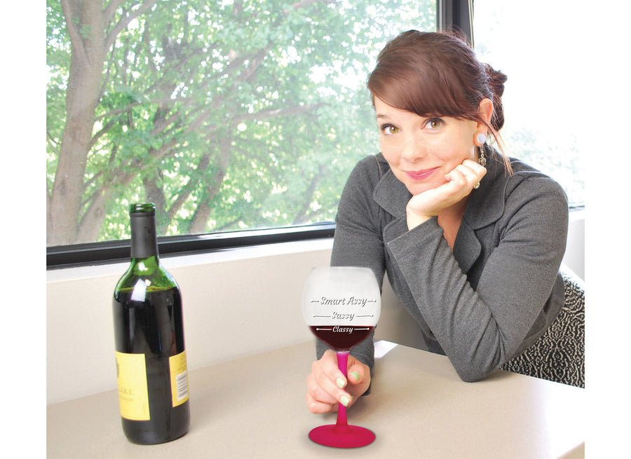 The Smart Assy Wine Glass