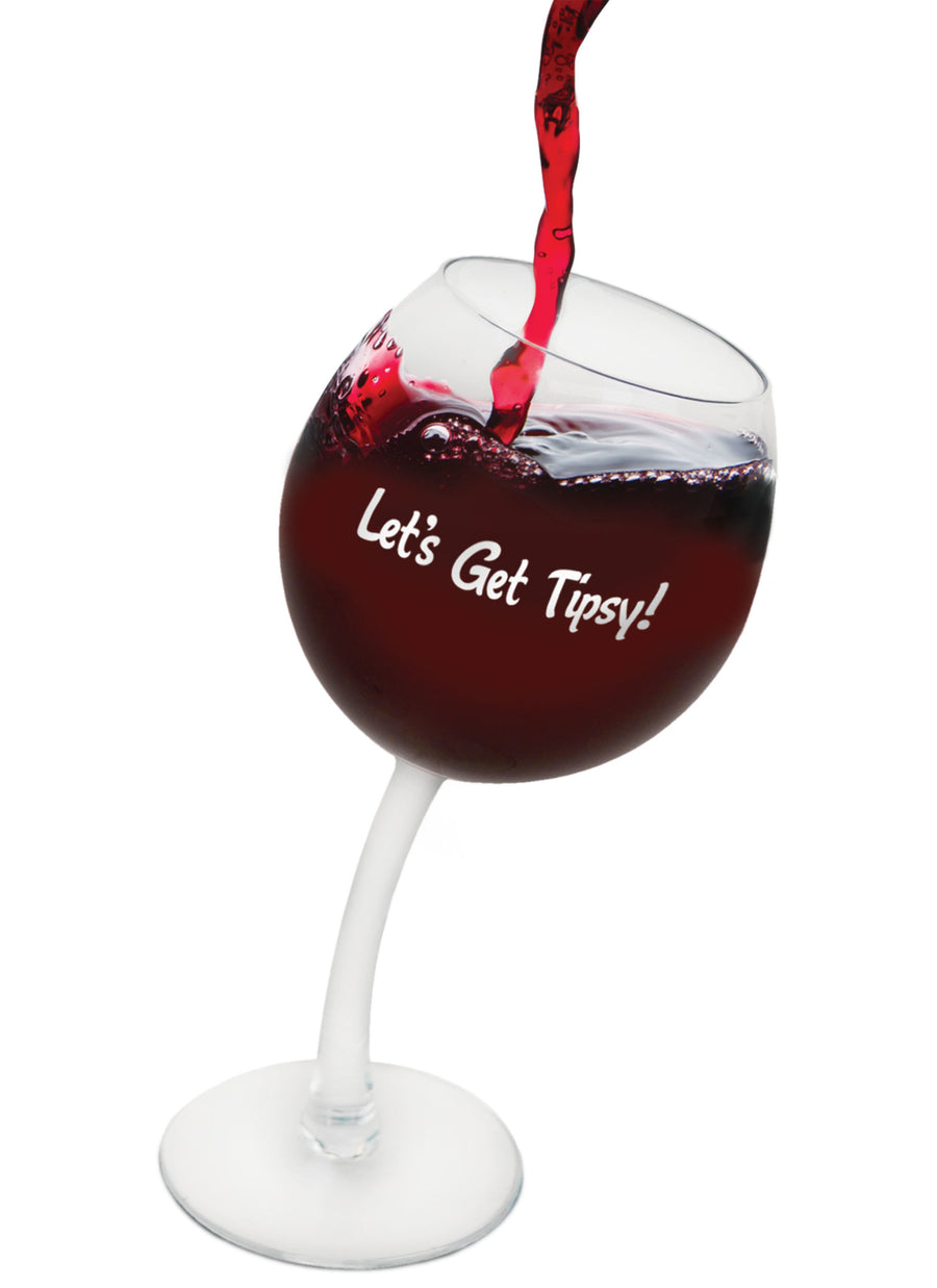 The Tipsy Wine Glass Set