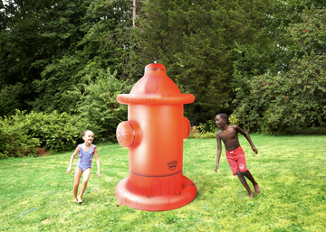 Ginormous Fire Hydrant Yard Sprinkler