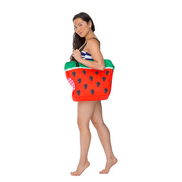 Giant Watermelon Cooler Bag