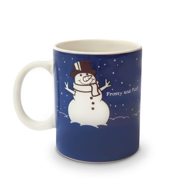 The Color Changing Snowman Mug