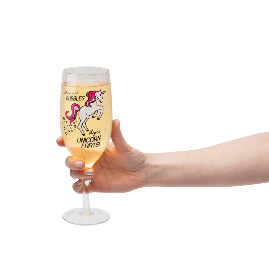 The Unicorn Champagne Glass