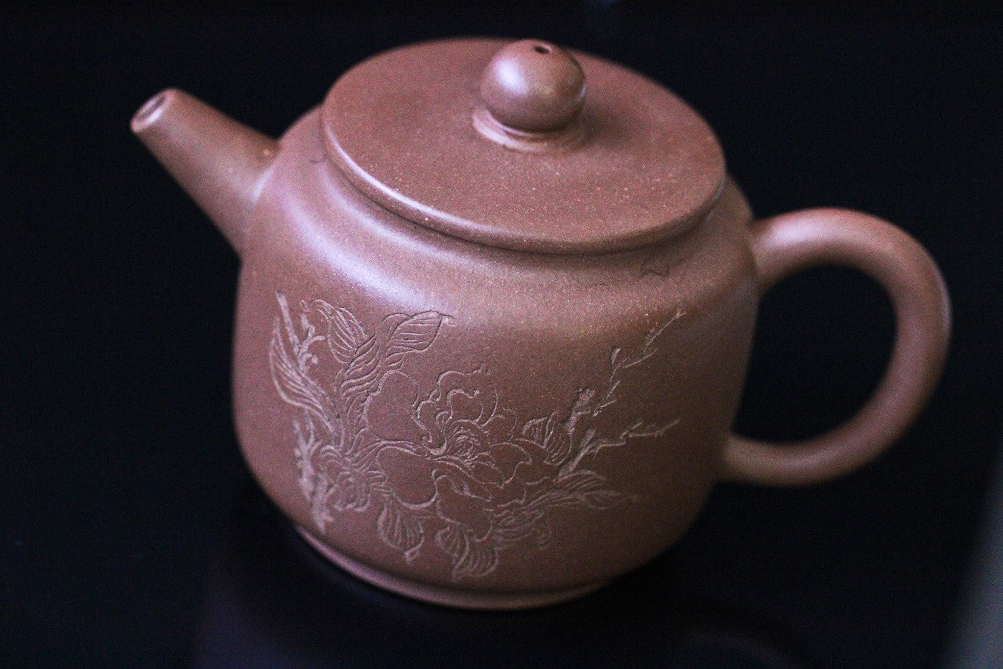 Magnolia & Poetry Brown Ju Ne Clay Pot