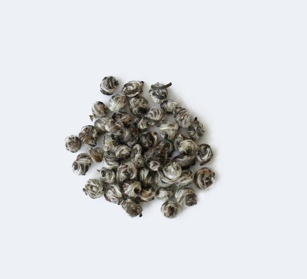 Gold Medal Jasmine Pearls, Fujian, China Spring Harvest