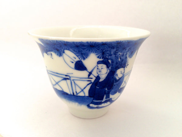 Hand Painted Bridge Cup