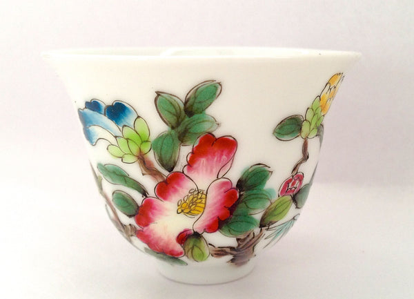 Hand Painted Flower Cup