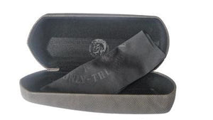 DIESEL Sunglasses or Spectacles Glasses Case Black 15cm x 5cm x 3cm