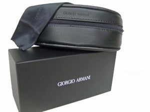 GIORGIO ARMANI Sunglasses Case + Cloth & Box