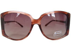 GUESS by MARCIANO GM 643 BRN 34 Ladies Designer Sunglasses, Case & Cloth