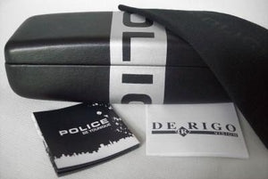 New POLICE Sunglasses & Case S1552 06Y8