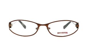 "True Religion Glasses ""Billie"" Cocoa Spectacles Eyeglasses RX Frames Case Inc."