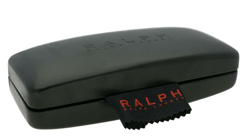 Ralph Lauren Glasses Case + Cloth Spectacles Eyeglasses 15cm x 5.5cm x 4cm