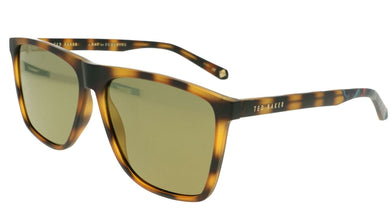 Ted Baker Sunglasses TB 1502 173 Willis Case Included Cat. 3 Tortoise
