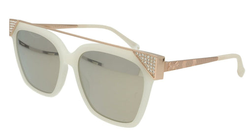Ted Baker Sunglasses TB 1489 852 Dawn Case Included Cat.3 Gold / Ivory Large