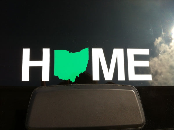 Home Ohio Sticker | Green