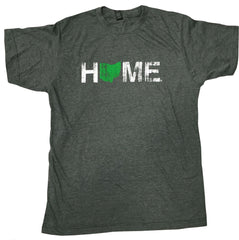 Unisex Home Ohio Tee - Green/White