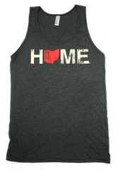Unisex Home Ohio Tank Red/Eggshell