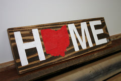 OHIO PALLET SIGN | HOME | RED