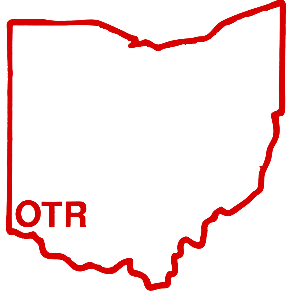 ohio otr sticker white bop be ohio proud