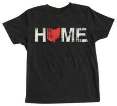 Ohio Home Kids' Tee - Red/White
