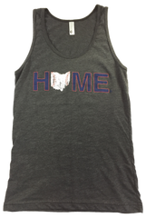 Ohio Home Baseball Unisex Tank - Navy/Red/White