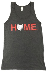 Ohio Home Baseball Unisex Tank - Red/White