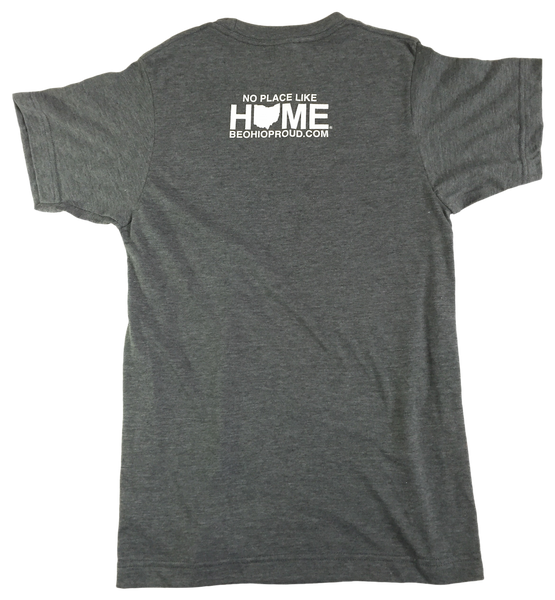 Ohio Home Baseball Unisex Tee - Navy/Red/White