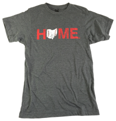 Ohio Home Baseball Unisex Tee - Red/White