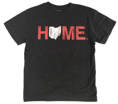 Ohio Home Baseball Kids' Tee - Red/White