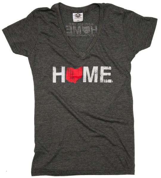 Ladies' Ohio V-Neck | Red