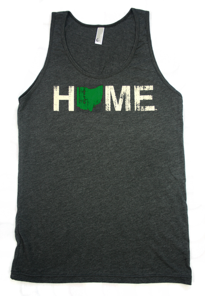 Unisex Home Ohio Tank Green/Eggshell