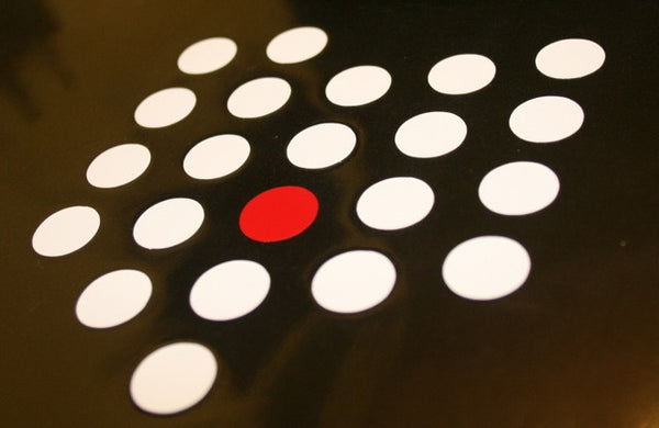 Ohio Dots Sticker