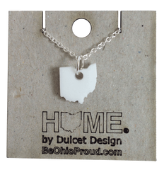 White Ohio Necklace