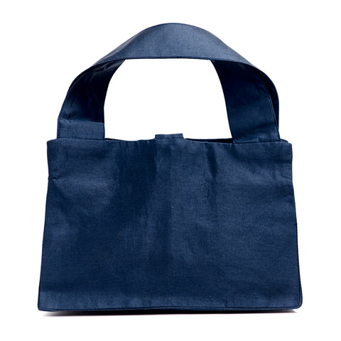 NAVY LADY BAG