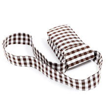 Load image into Gallery viewer, GINGHAM BROWN IPHONE CROSSBODY