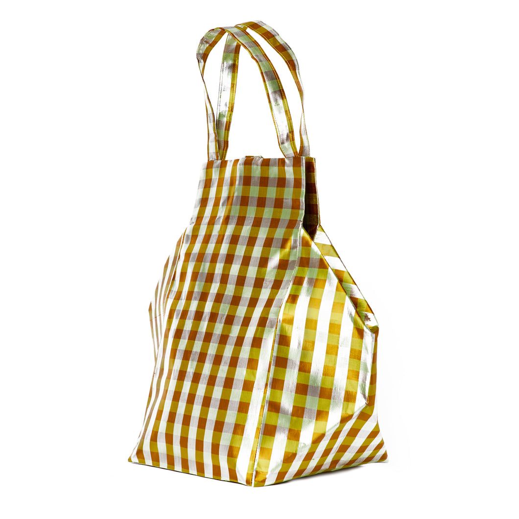 XL IRIDESCENT YELLOW EVERYDAY BAG