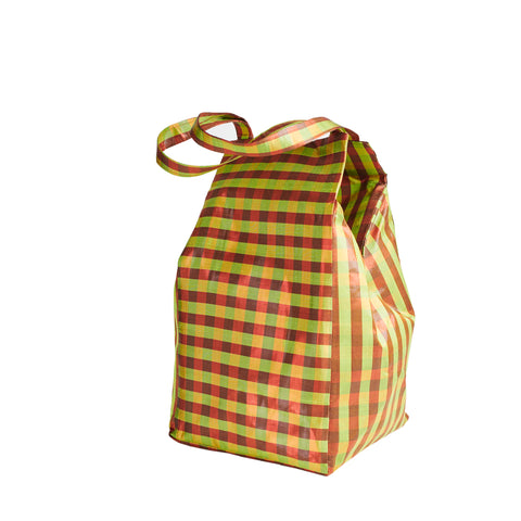 XL IRIDESCENT MUSTARD EVERYDAY BAG
