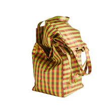 Load image into Gallery viewer, XL IRIDESCENT MUSTARD EVERYDAY BAG