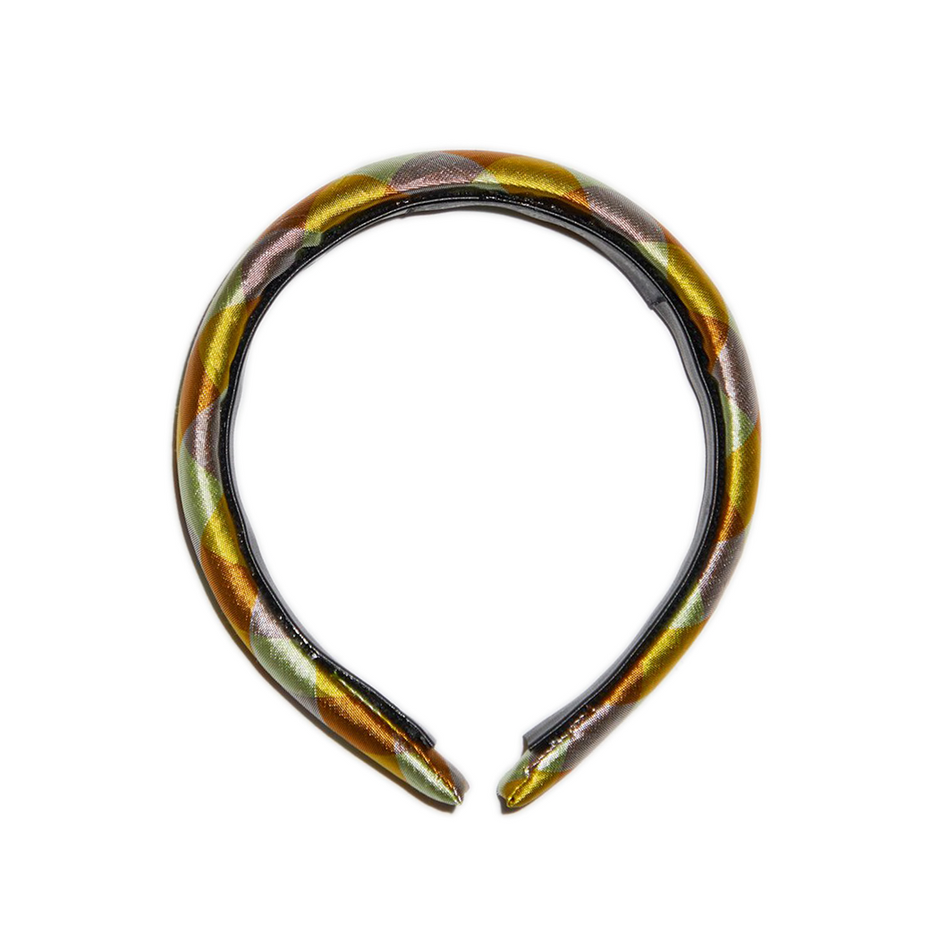 IRIDESCENT YELLOW HEADBAND
