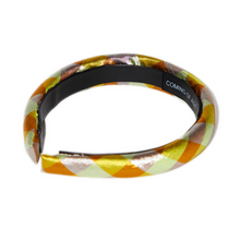 Load image into Gallery viewer, IRIDESCENT YELLOW HEADBAND