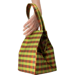 IRIDESCENT MUSTARD EVERYDAY BAG