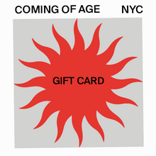 Load image into Gallery viewer, COA Gift Card
