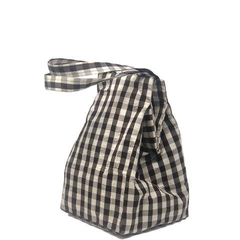 GINGHAM BROWN EVERYDAY BAG